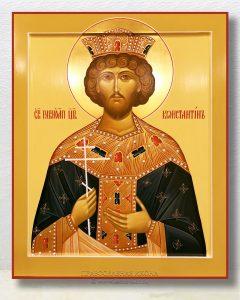 Икона «Константин Великий равноапостольный» (образец №1)