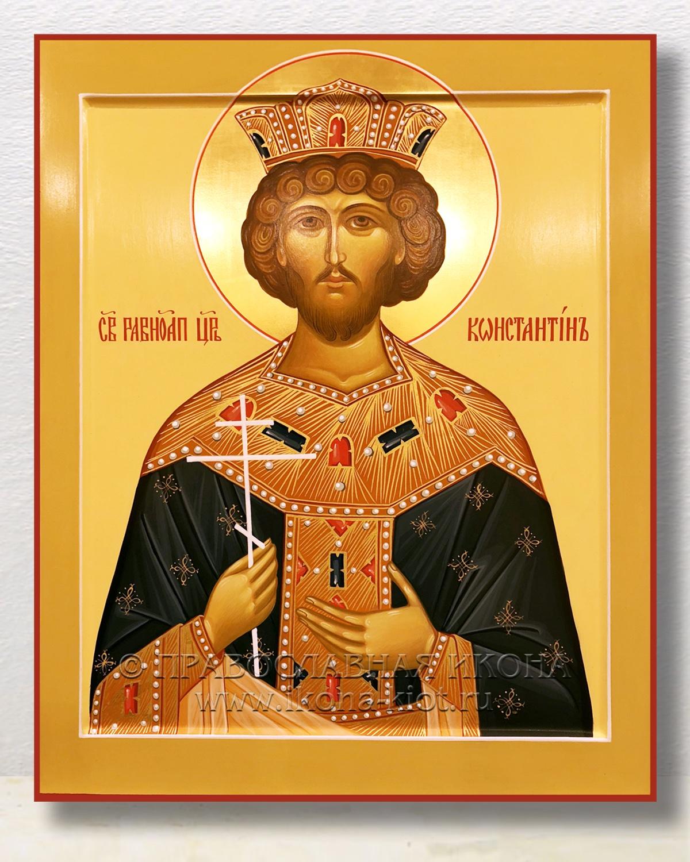 Икона «Константин Великий, равноапостольный» (образец №1)