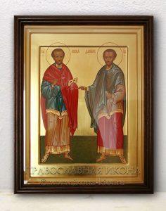 Икона «Косма и Дамиан, Римские» (образец №2)