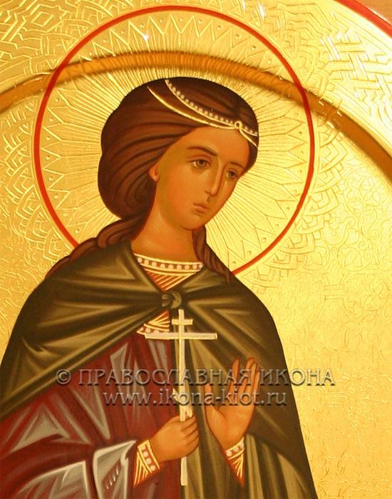 Икона «Кристина (Христина) мученица» (образец №3)