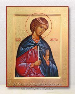 Икона «Кристина (Христина) мученица» (образец №6)