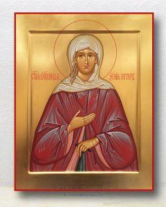 Икона «Ксения Петербургская, блаженная» (образец №13)