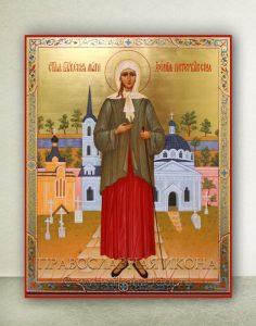 Икона «Ксения Петербургская, блаженная» (образец №15)
