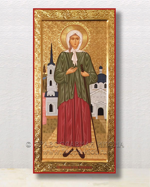Икона «Ксения Петербургская, блаженная» (образец №16)