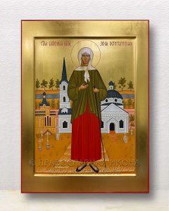 Икона «Ксения Петербургская, блаженная» (образец №24)