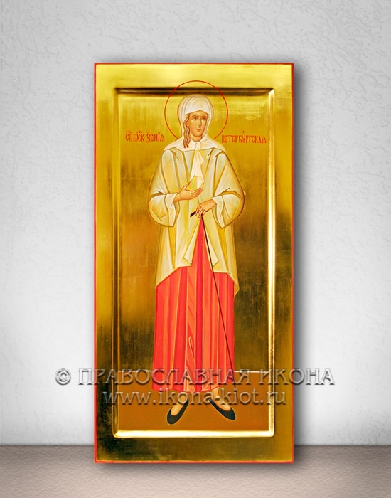 Икона «Ксения Петербургская, блаженная» (образец №7)