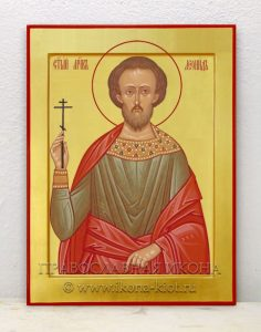 Икона «Леонид, мученик»
