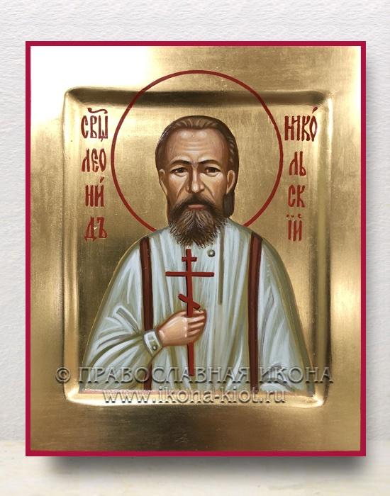 Икона «Леонид Никольский, священномученик»