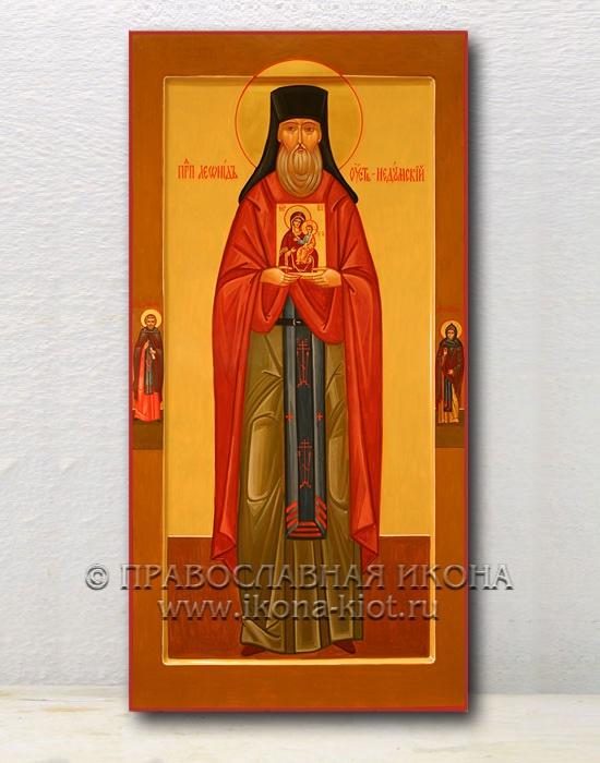 Икона «Леонид Устьнедумский, преподобный» (образец №1)