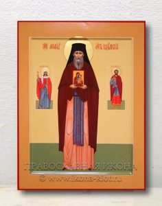 Икона «Леонид Устьнедумский, преподобный» (образец №2)
