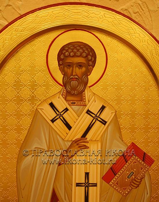 Икона «Лев Римский, святитель» (образец №3)