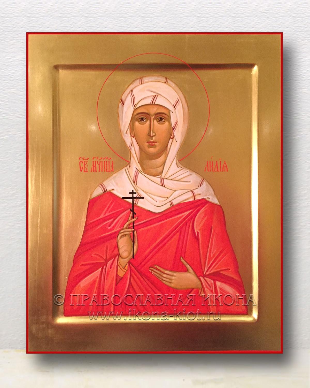 Икона «Лидия Иллирийская» (образец №1)