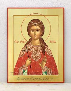 Икона «Любовь Римская, мученица» (образец №3)
