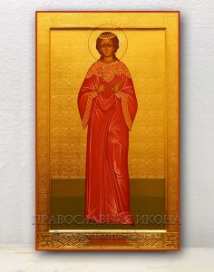 Икона «Любовь Римская, мученица» (образец №4)