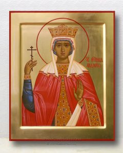 Икона «Людмила Чешская» (образец №5)