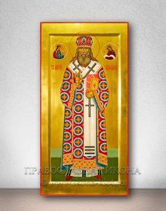 Икона «Макарий, митрополит Московский и всея Руси» (образец №2)