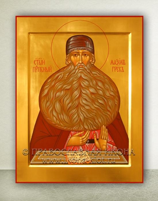 Икона «Максим Грек, преподобный» (образец №1)