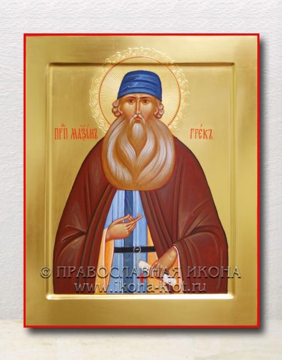 Икона «Максим Грек, преподобный» (образец №2)