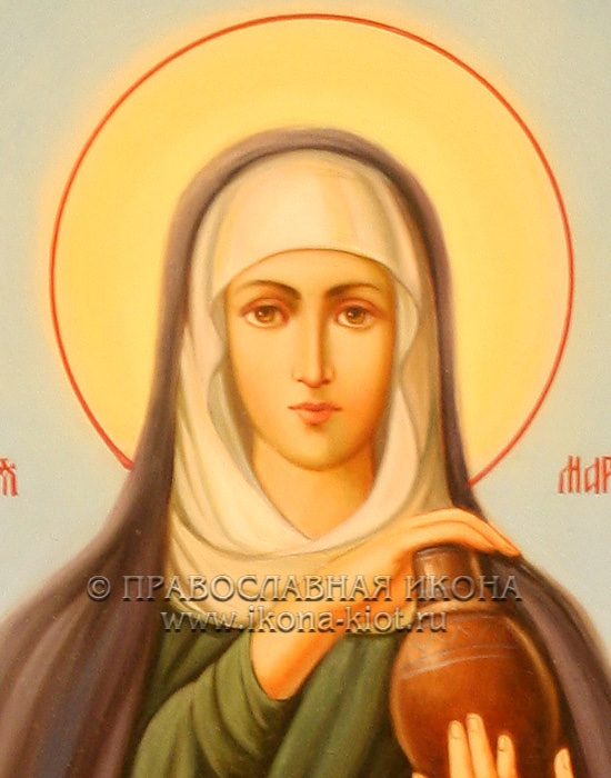 Икона «Мария Магдалина, равноапостольная» (образец №8)