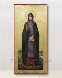 Мерная икона (живопись с гравировкой)