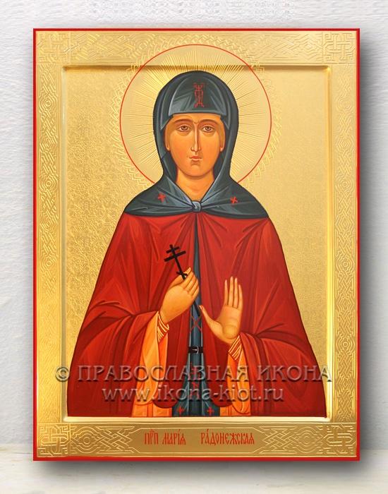 Икона «Мария Радонежская, преподобная» (образец №8)
