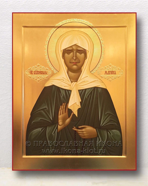 Икона «Матрона Московская, блаженная» (образец №1)