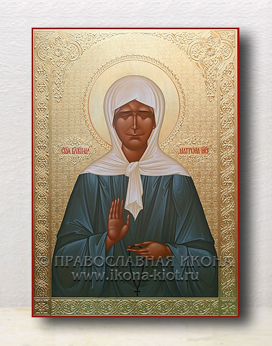 Икона «Матрона Московская, блаженная» (образец №13)