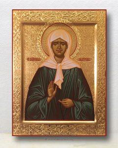 Икона «Матрона Московская, блаженная» (образец №15)
