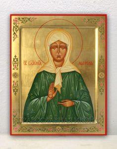 Икона «Матрона Московская, блаженная» (образец №16)