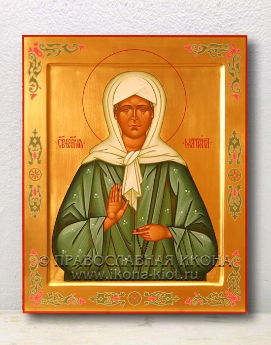 Икона «Матрона Московская, блаженная» (образец №17)