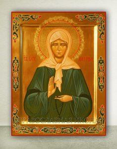 Икона «Матрона Московская, блаженная» (образец №18)