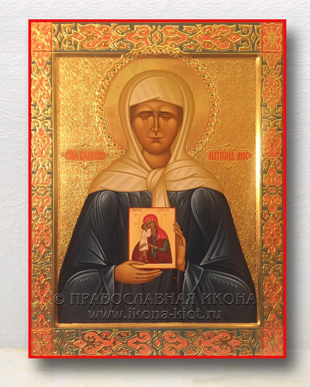 Икона «Матрона Московская, блаженная» (образец №19)