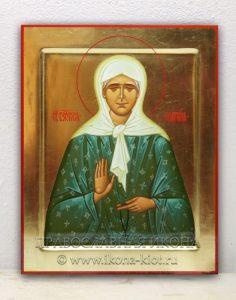Икона «Матрона Московская, блаженная» (образец №2)
