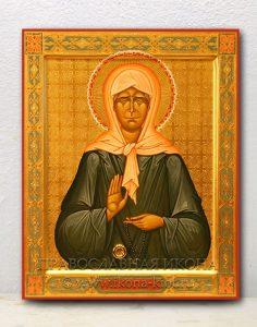 Икона «Матрона Московская, блаженная» (образец №20)