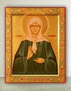 Икона «Матрона Московская, блаженная» (образец №22)