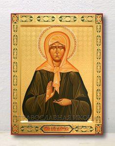 Икона «Матрона Московская, блаженная» (образец №23)