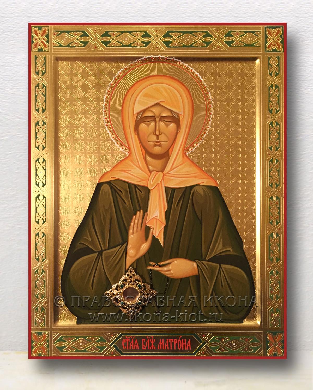 Икона «Матрона Московская, блаженная» (образец №24)