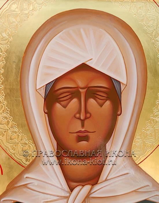 Икона «Матрона Московская, блаженная» (образец №26)