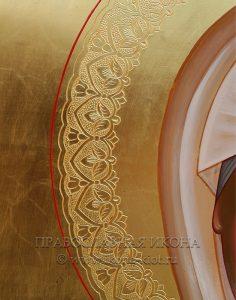Икона «Матрона Московская, блаженная» (образец №27)
