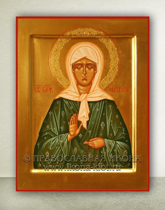 Икона «Матрона Московская, блаженная» (образец №28)