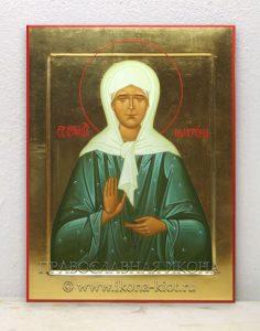 Икона «Матрона Московская, блаженная» (образец №3)