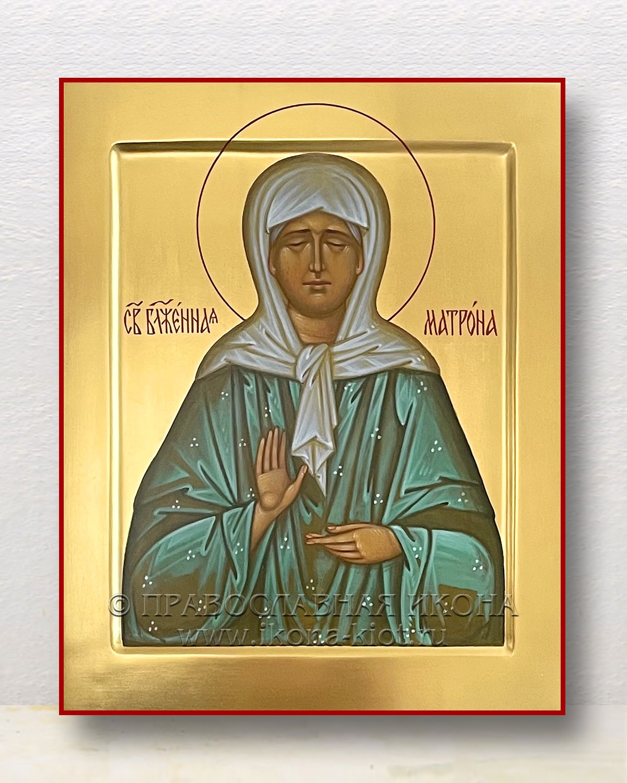 Икона «Матрона Московская, блаженная» (образец №35)