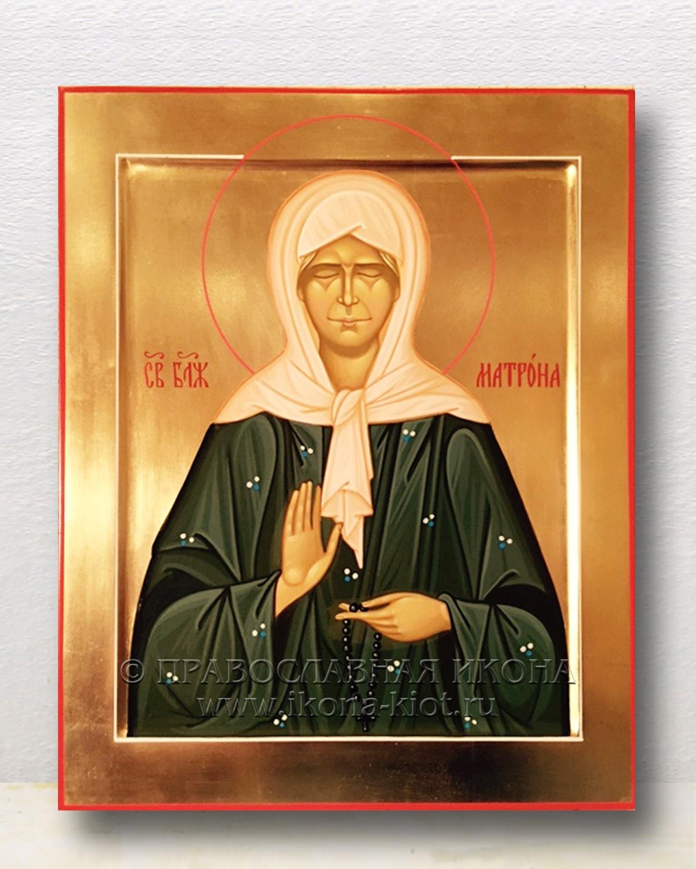 Икона «Матрона Московская, блаженная» (образец №37)