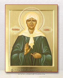 Икона «Матрона Московская, блаженная» (образец №38)