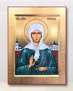 Икона «Матрона Московская, блаженная» (образец №41)