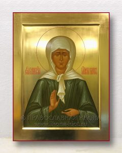 Икона «Матрона Московская, блаженная» (образец №43)