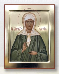 Икона «Матрона Московская, блаженная» (образец №9)