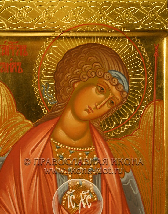 Икона «Михаил Архангел, архистратиг» (образец №22)