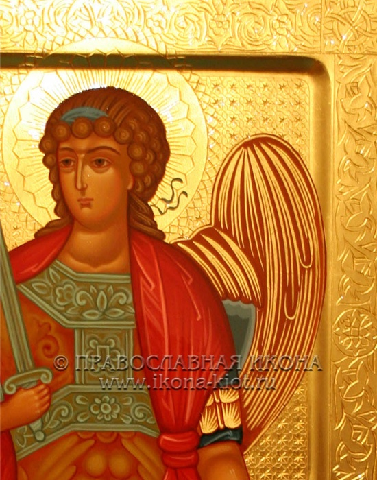 Икона «Михаил Архангел, архистратиг» (образец №26)