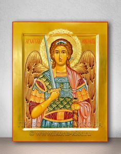 Икона «Михаил Архангел, архистратиг» (образец №27)